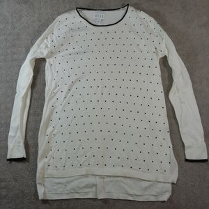 Elle Black Dot Sweater